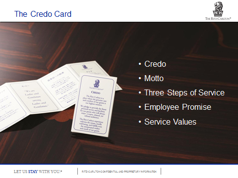 Image of Ritz-Carlton Credo Card