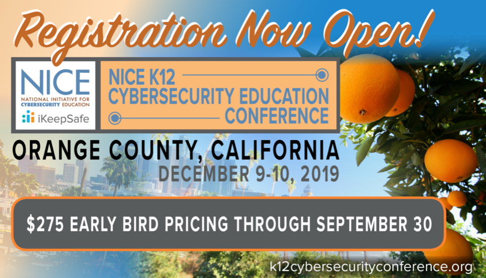 K-12 Conference Registration Open