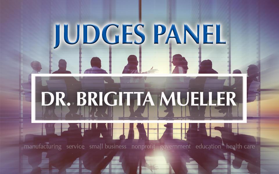 Baldrige Judges Panel Dr. Brigitta Mueller photo