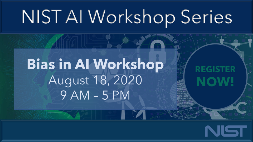 Workshop Series Banner August 18 Bias in AI Banner