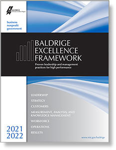 2021-2022 Baldrige Excellence Framework Business/Nonprofit feature image