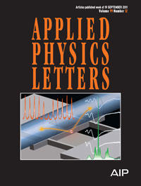 Applied Physics Letter 99(12) cover - small