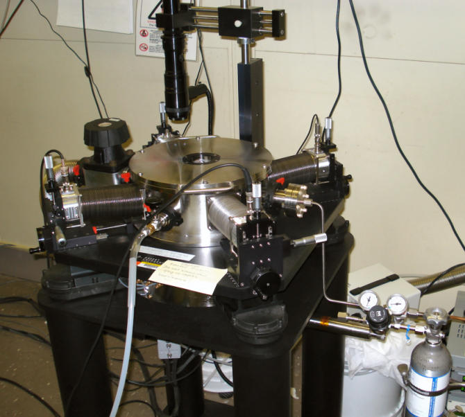 Semiconductor nanowire 4-point probe measurement