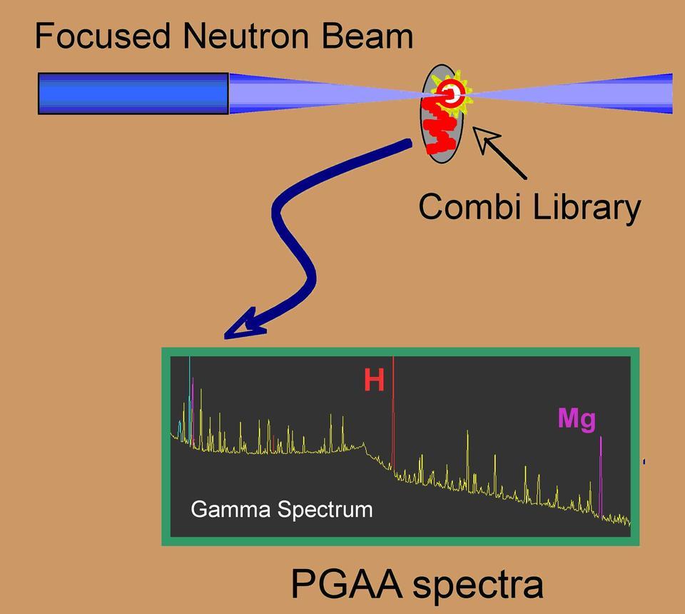 hydrogen storage materials PGAA spectra