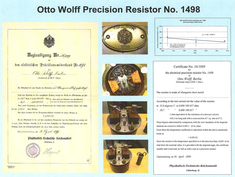 documentation for 1899 resistor