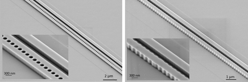 Photonic thermometers