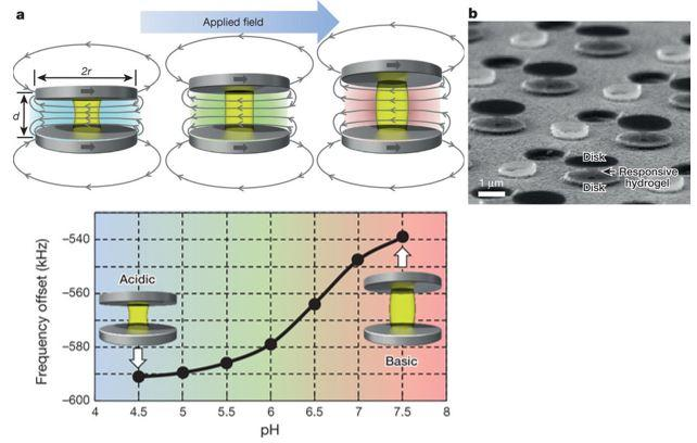 magnetic nanoprobe