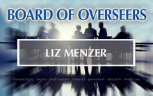 Photo of Board of Overseer Liz Menzer.