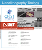 Cover page for Nanolithography Toolbox manual