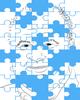 DNA Marker Puzzle Illustration