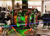 Composite photo of microwave apparatus