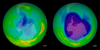 Ozone hole in 1978 and 2008