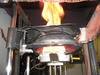 epoxy with an intumescent fire retardant