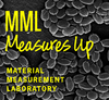 MML Measures Up logo on black and white image of anthrax