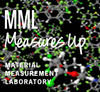 MML Measures Up logo on molecule model