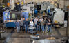 group portrait of the NIST machine shop crew