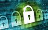 cybersecurity padlock illustration