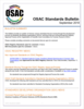 OSAC Standards Bulletin September 2018