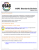 OSAC Standards Bulletin, March 2019