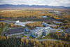 Aerial shot of the University of Alaska Anchorage  campus