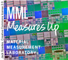 MML Measures Up logo on image of silicon chip