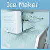 "Picture of the Ice Maker with the words ""Ice Maker"" displayed above it"