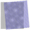 moiré patterns created by overlaid sheets of graphene to determine how the lattices of the individual sheets were stacked in relation to one another and to find subtle strains in the regions of bulges or wrinkles in the sheets.