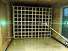 wooden grid in wind tunnel