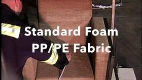 Standard Foam PP-PE Fabric Chair Test Burn Thumbnail