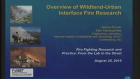Overview of Wildland-Urban Interface Fire Research Thumbnail