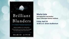 NIST Colloquium Series- Brilliant Blunders, by Mario Livio Thumbnail