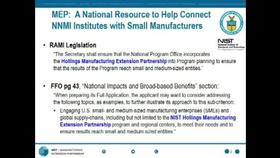 NNMI Proposer's Day Webcast, Part 2 Thumbnail