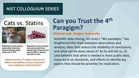 NIST Colloquium Series: Can you Trust the Fourth Paradigm? by Michael Lesk Thumbnail