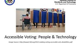 Accessible Voting: People & Technology (January 23, 2014) Thumbnail