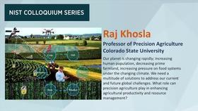 NIST Colloquium Series: Raj Khosla Thumbnail