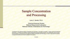 Sample Concentration and Processing Thumbnail