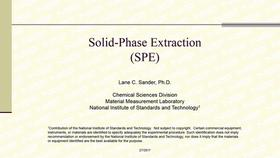 Solid Phase Extraction Thumbnail