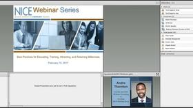 NICE Webinar Series:  Best Practices for Educating, Training, Attracting, and Retaining Millennials Thumbnail
