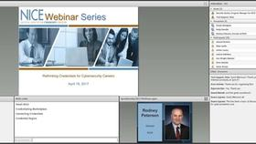 NICE Webinar Series: Rethinking Credentials for Cybersecurity Careers Thumbnail