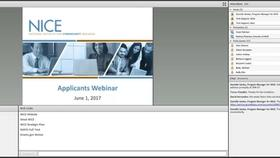 Applicant's Webinar:  NICE Notice of Funding Opportunity 2017 Thumbnail