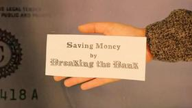 Saving Money by Breaking Bank - NISTory