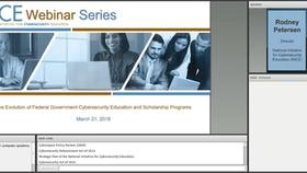 NICE Webinar: The Evolution of Federal Government Cybersecurity Education and Scholarship Programs Thumbnail