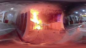 360° Video of a Kitchen Fire Thumbnail