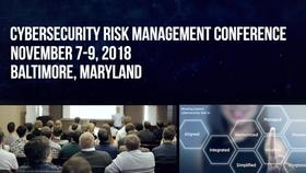 2018 Cybersecurity Risk Management Conference Teaser Thumbnail