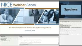NICE Webinar: The Underserved Cybersecurity Workforce - Securely Provisioning our Future Thumbnail
