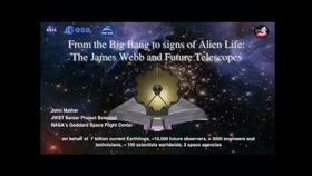 NIST Colloquium Series: From the Big Bang to Signs of Alien Life with the James Webb and Future Telescopes Thumbnail