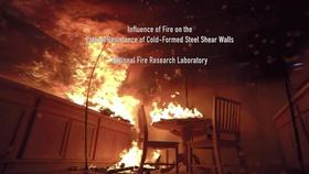 Influence of Fire on the Lateral Resistance of Cold-Formed Steel Shear Walls (Project Overview) Thumbnail