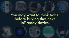 Recommendations for IoT  Devices Thumbnail