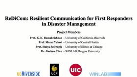 ReDiCom: Resilient Communications for Dynamic First Responder Teams in Disaster Management Thumbnail
