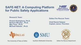 SAFENET: A Computing Platform for Public Safety Applications Thumbnail